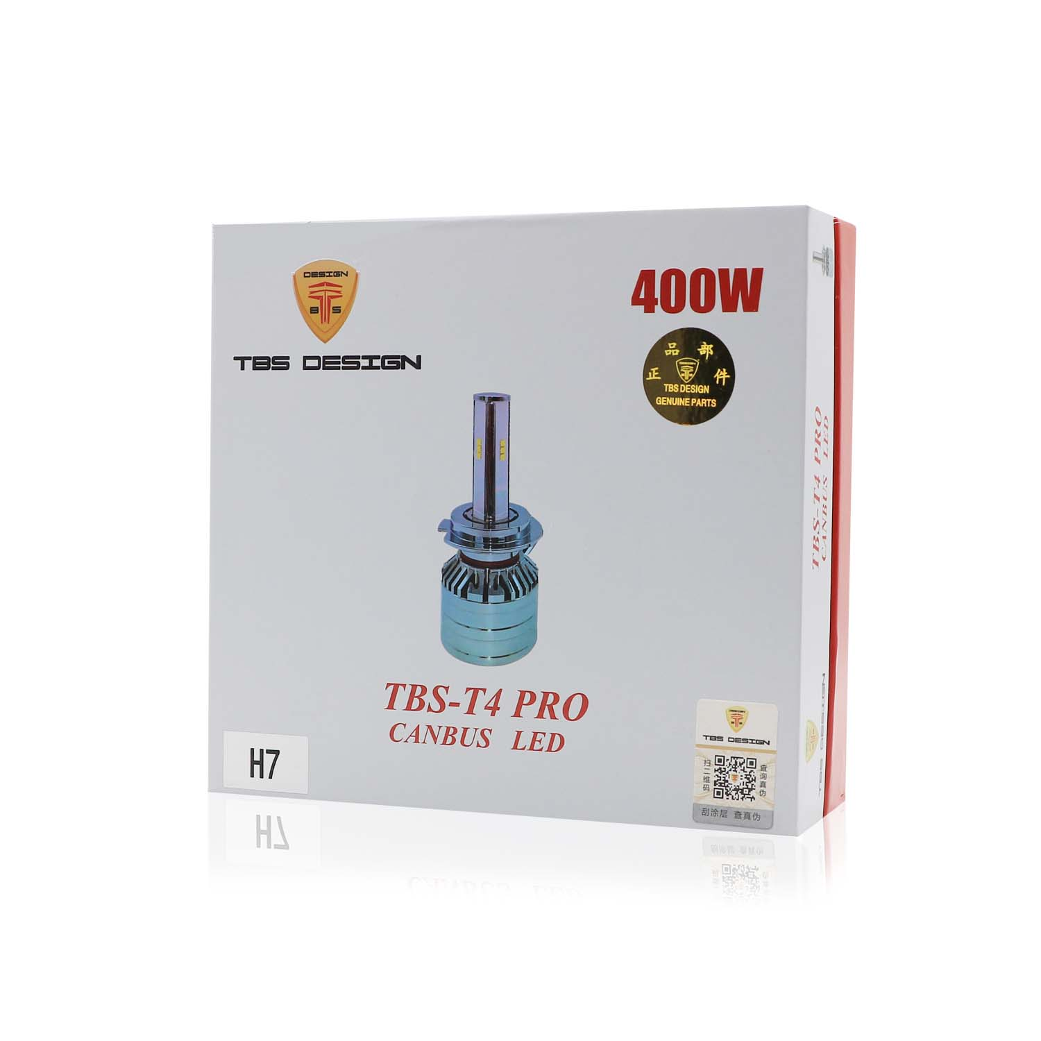 T4 PRO H7 Canbus LED Headlight 400W 40000LM