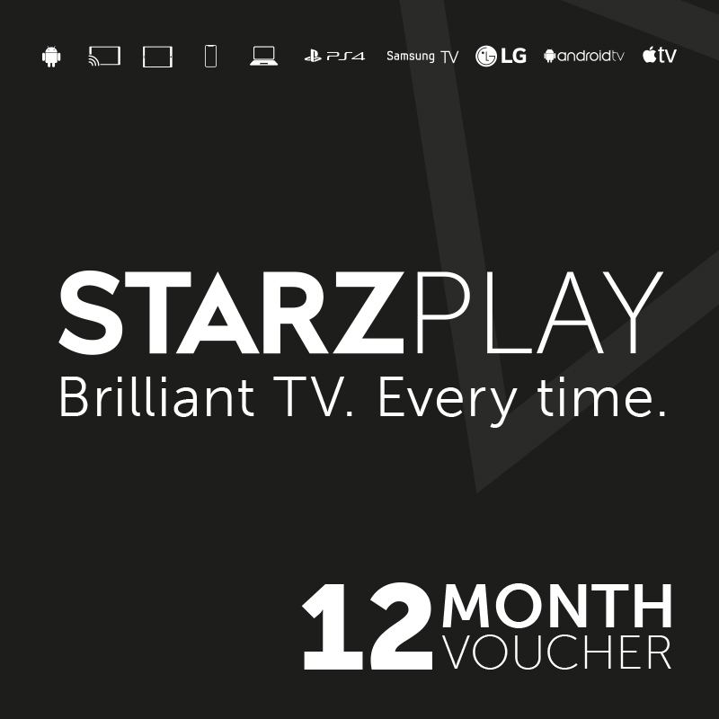 Starzplay 12 Month Subscription - Email Delivery