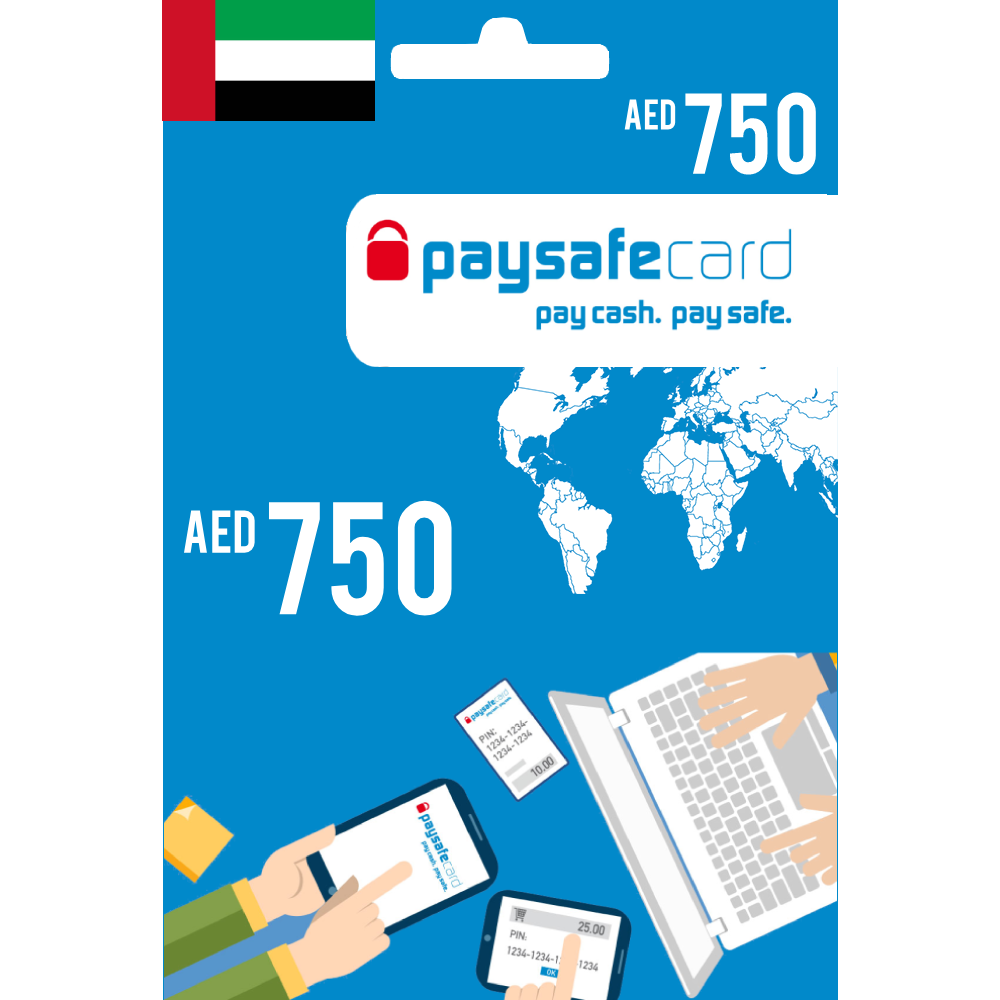 Paysafecard Digital Card UAE - AED 750 - Email Delivery