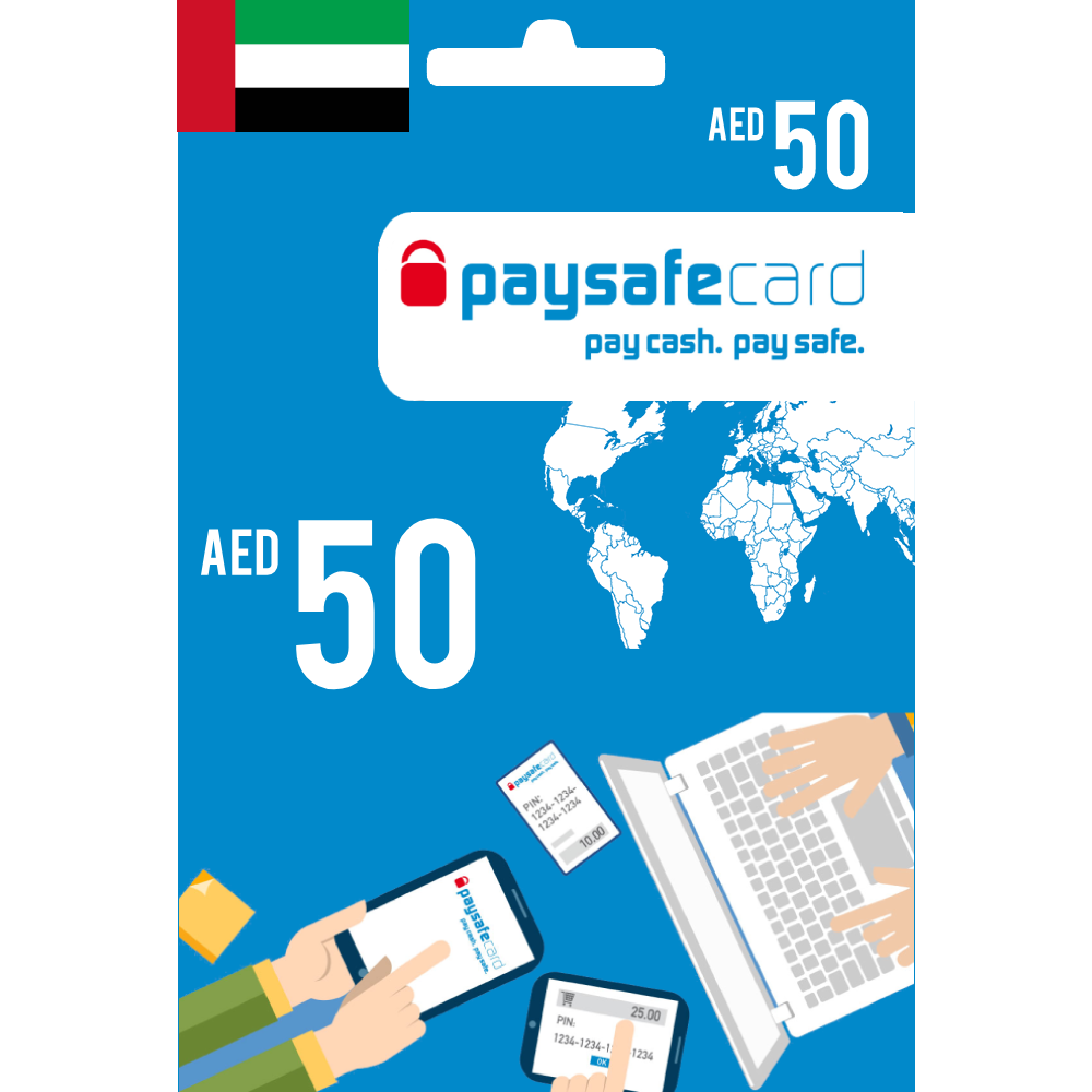 Paysafecard Digital Card UAE - AED 50 - Email Delivery
