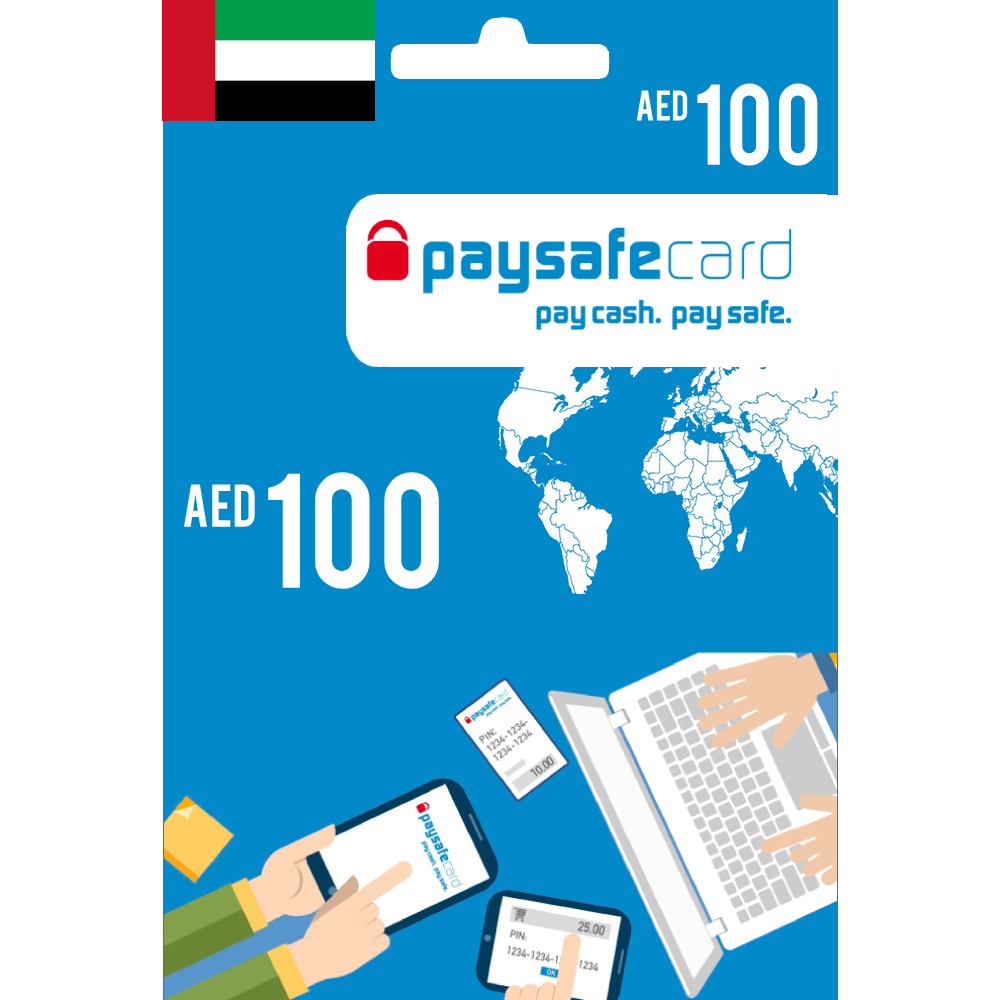 Paysafecard Digital Card UAE - AED 100 - Email Delivery
