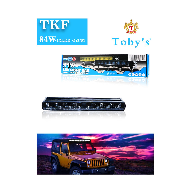 "TKF 84 W Light Bar Combo Spot/Flood Beam LED Light Bar with DRL (12LED"", 52CM"")"