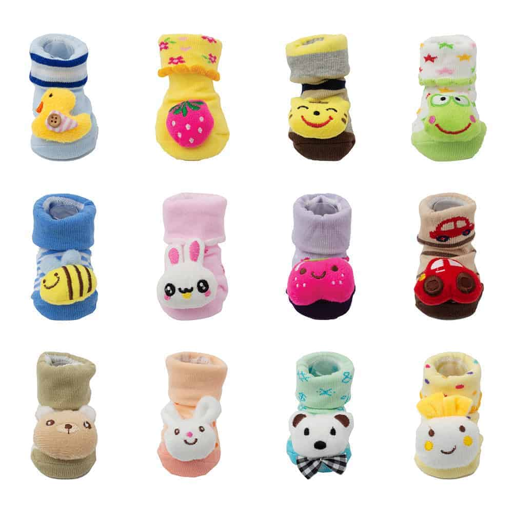 multi-color-baby-ankle-socks