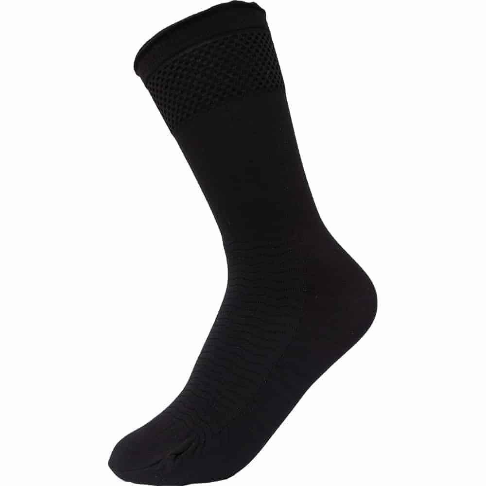black-massage-socks-women