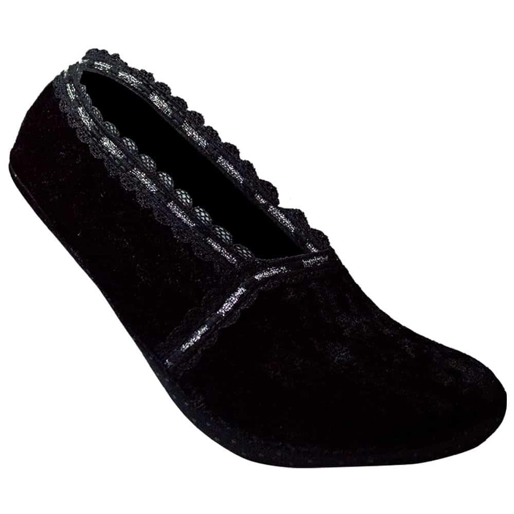 black-slipper-socks