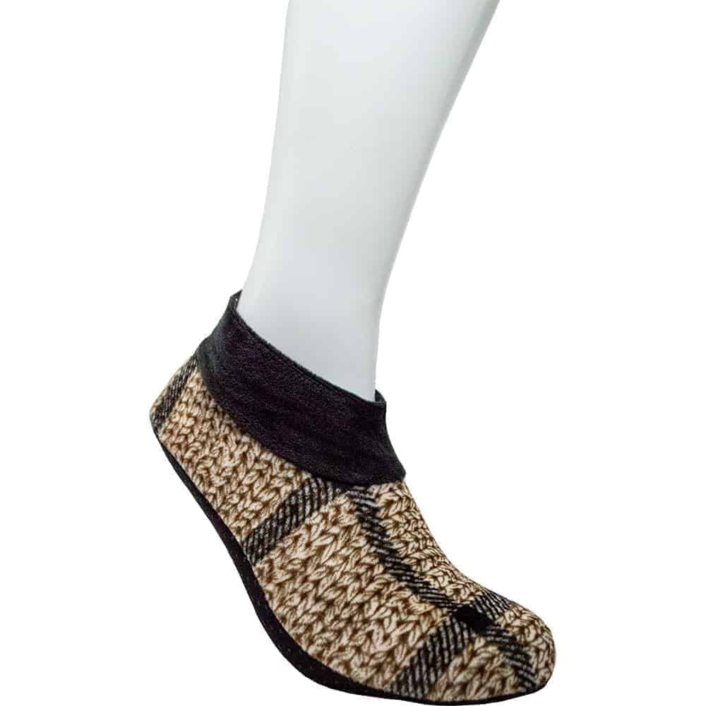 Jie Shuai Feet Socks Slippers for Women, 12 Pairs of Multiple-colored Fleece-Lined House Slippers