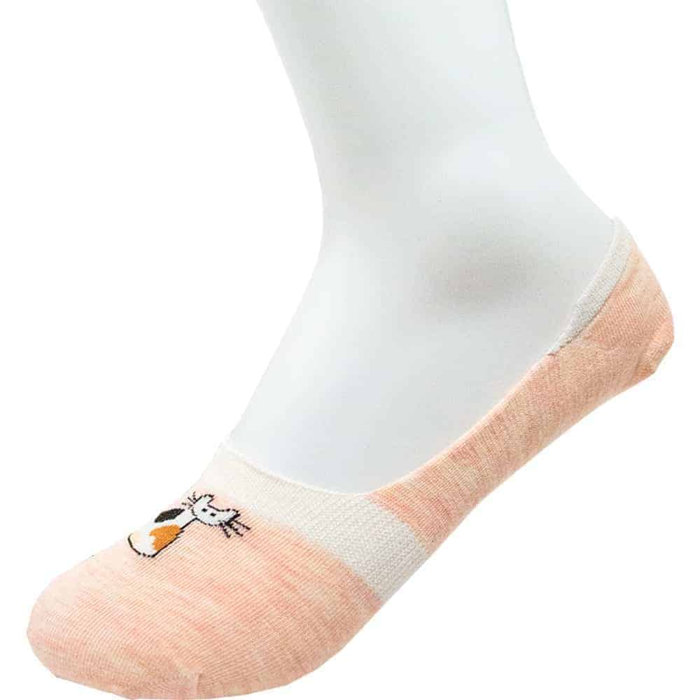 PISEE Women's 12-Pair No Show Cushioned Invisible Liner Socks