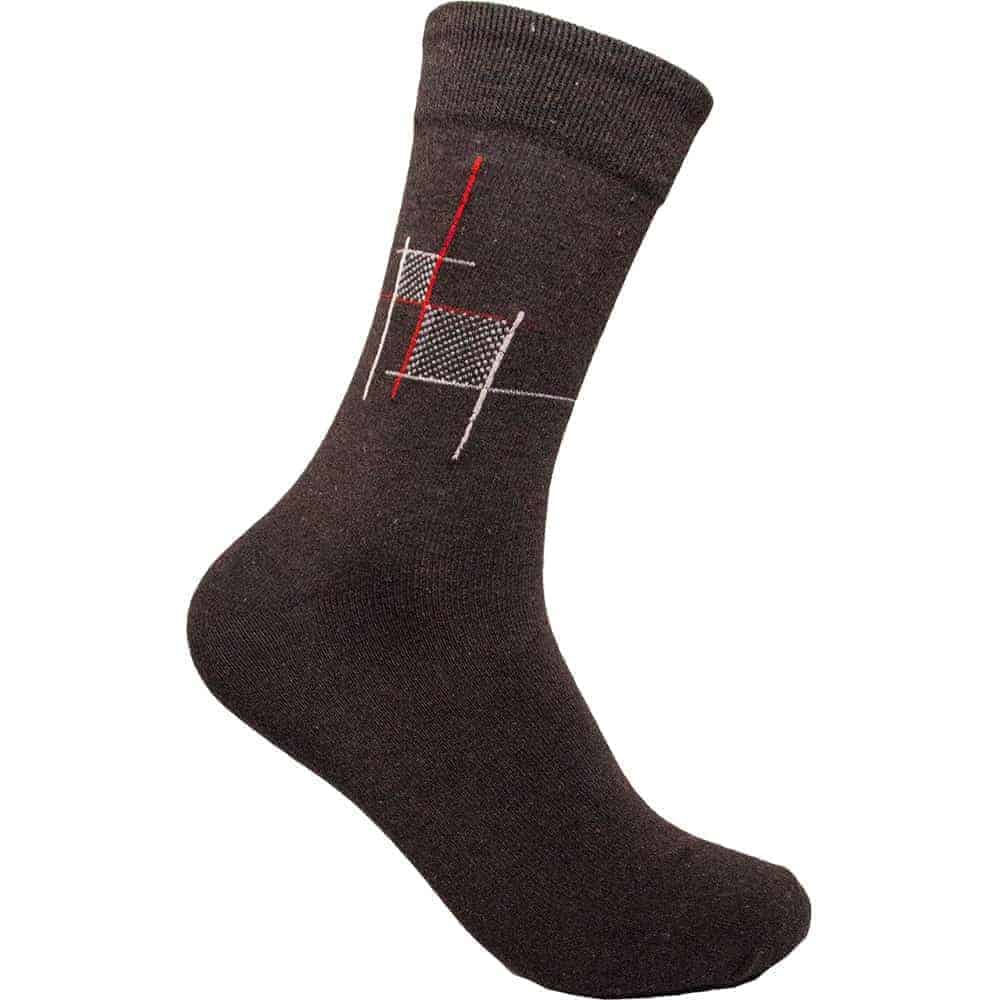 Mens Cotton 12 Pairs Crew Socks Solid Ribbed Multicolor