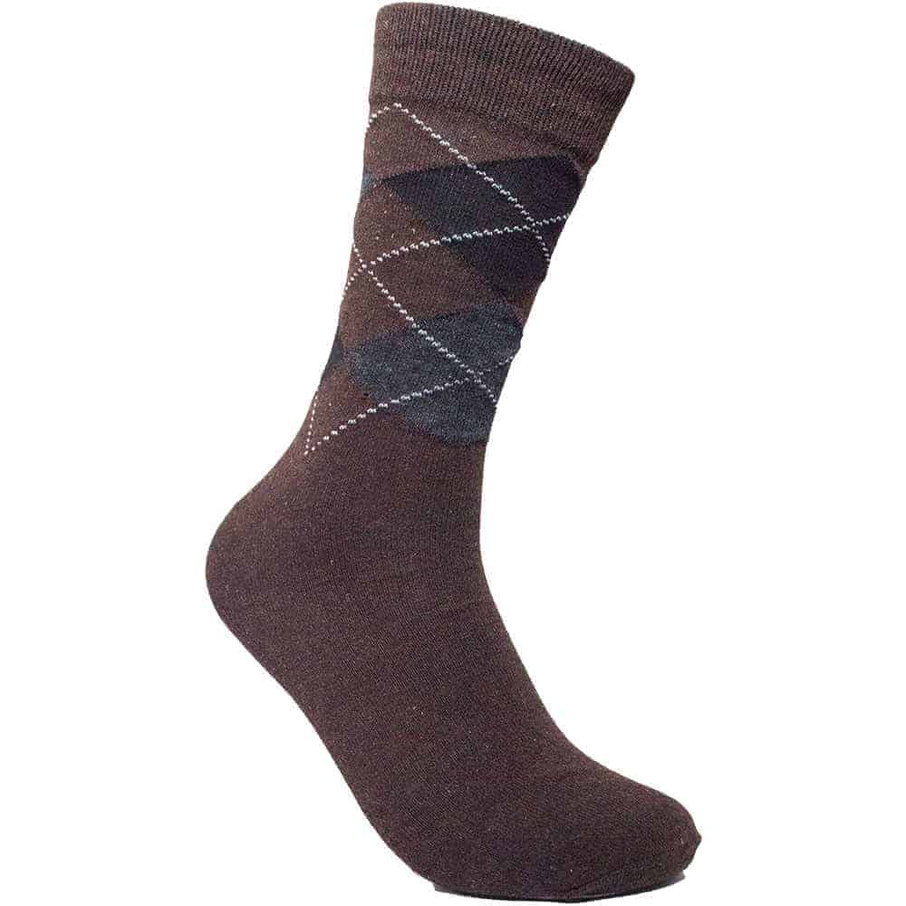 brown-crew-socks-for-men