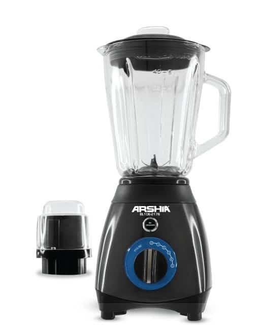 Arshia 2 in 1 Blender With Coffee Grinder
