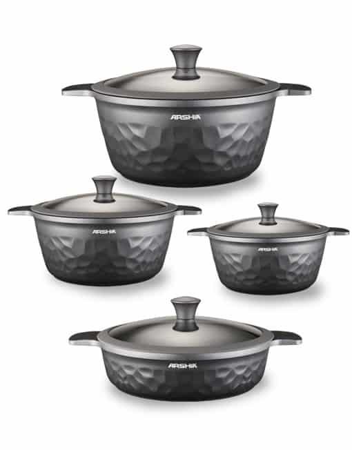 Arshia 8PCS DC Cookware Set