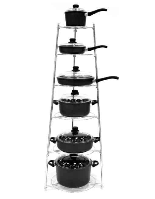 Arshia 6-Level Cookware Rack