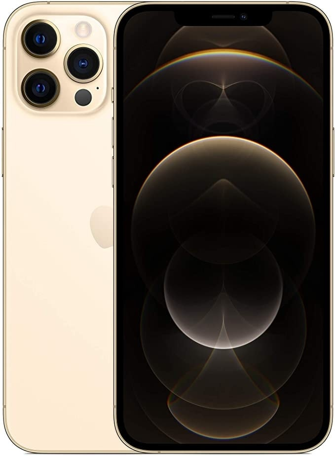 Apple iPhone 12 Pro Max with Facetime - 256GB, 5G, Gold - International Version