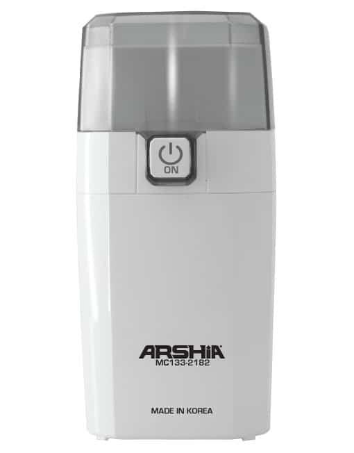 Arshia Coffee Bean Grinder White