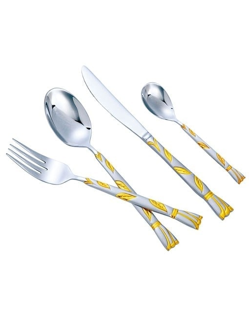 Arshia TM622GS 24PCS Cutlery Set