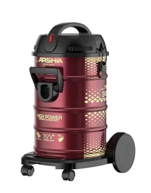 Arshia Drum Vacuum Cleaner 23 Liters - RED