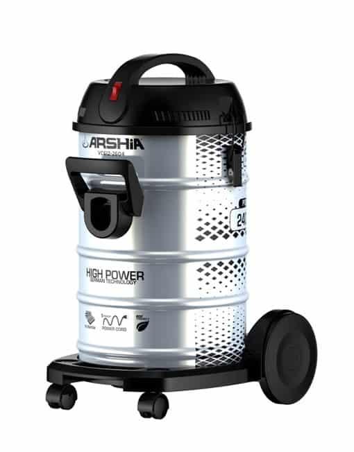 Arshia Drum Vacuum Cleaner 23 Liters - GREY