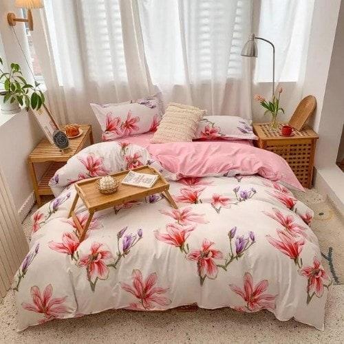 dealsforless-duvet-bedsheet-pillow-pinkfloral