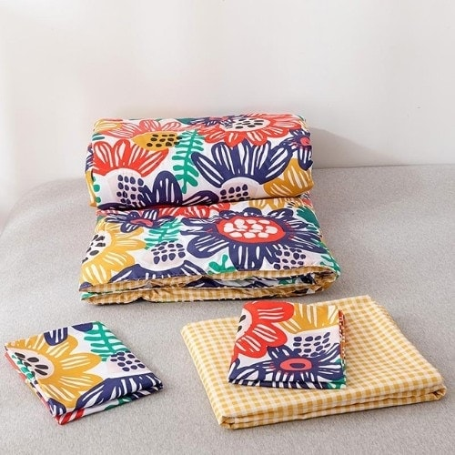 dealsforless-comforter-colorfulfloral-bedsheet-pillow