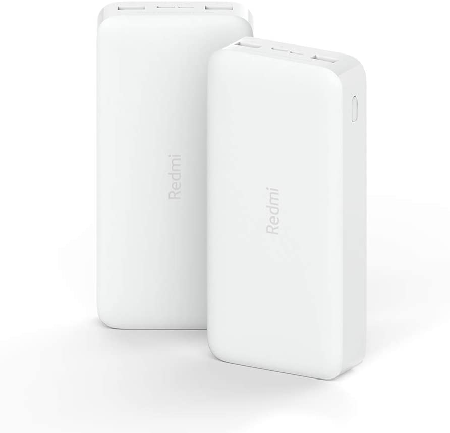 Xiaomi Redmi Charger Dual USB Power Adapter 20000mAh Powerbanks Fast Charge Portable Power-Bank for Mobile Phone
