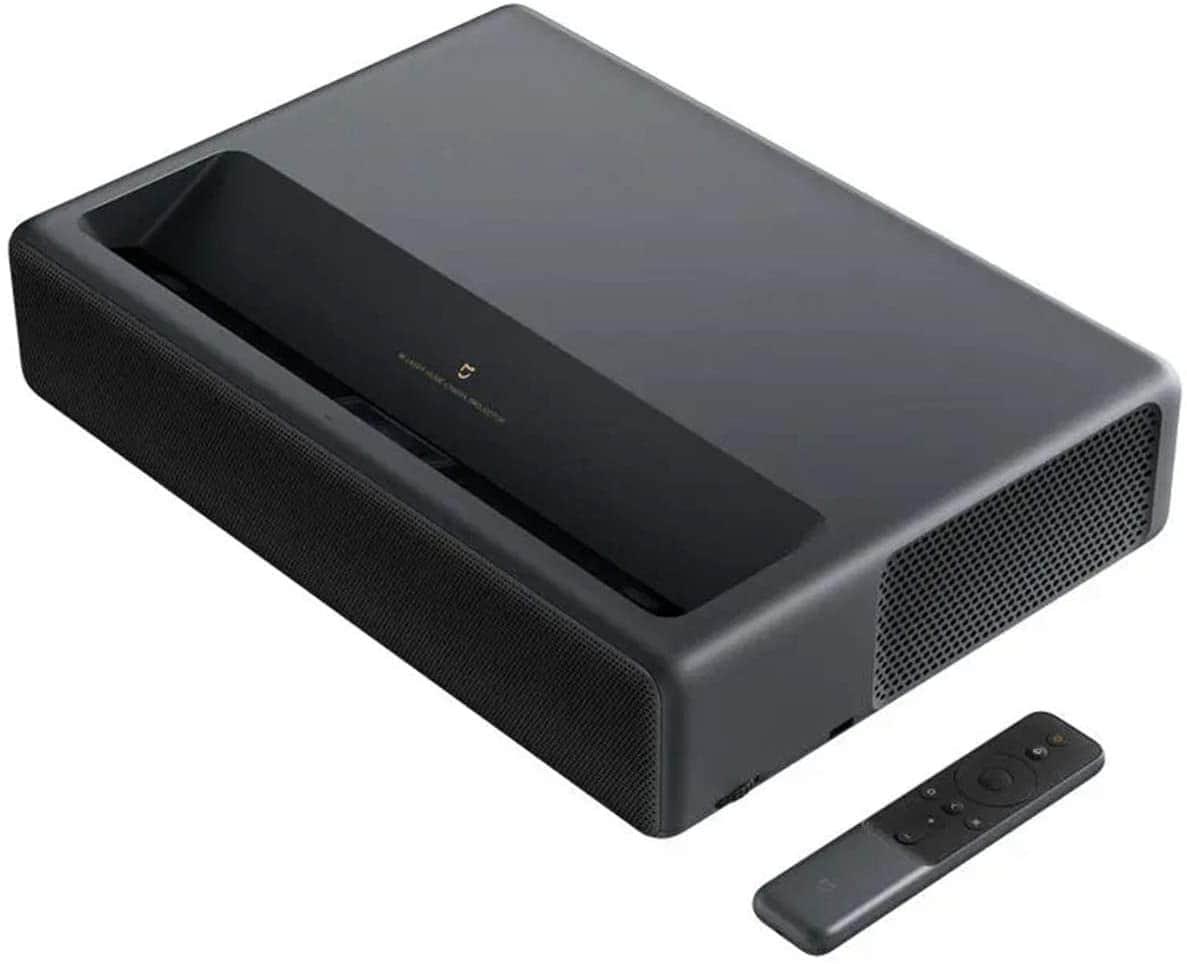 Xiaomi True 4K Laser Projector - Ultra Short Throw ALPD 3.0 3840x2160 Display Laser Projector TV Android Smart 3D Home Cinema