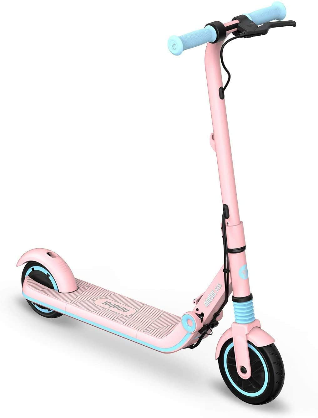 Ninebot eKickScooter ZING E8 Electric Kick Scooter for Boys and Girls, Lightweight and Foldable - Pink