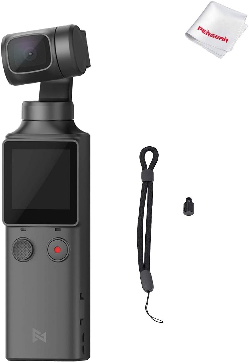 FIMI PALM 3 Axis Gimbal Stabilizer with 4K Smart Camera, 128° Ultra Wide Angle Lens, 120g, Wi-Fi & Bluetooth Connection, Built-in Microphone and external MIC Supported