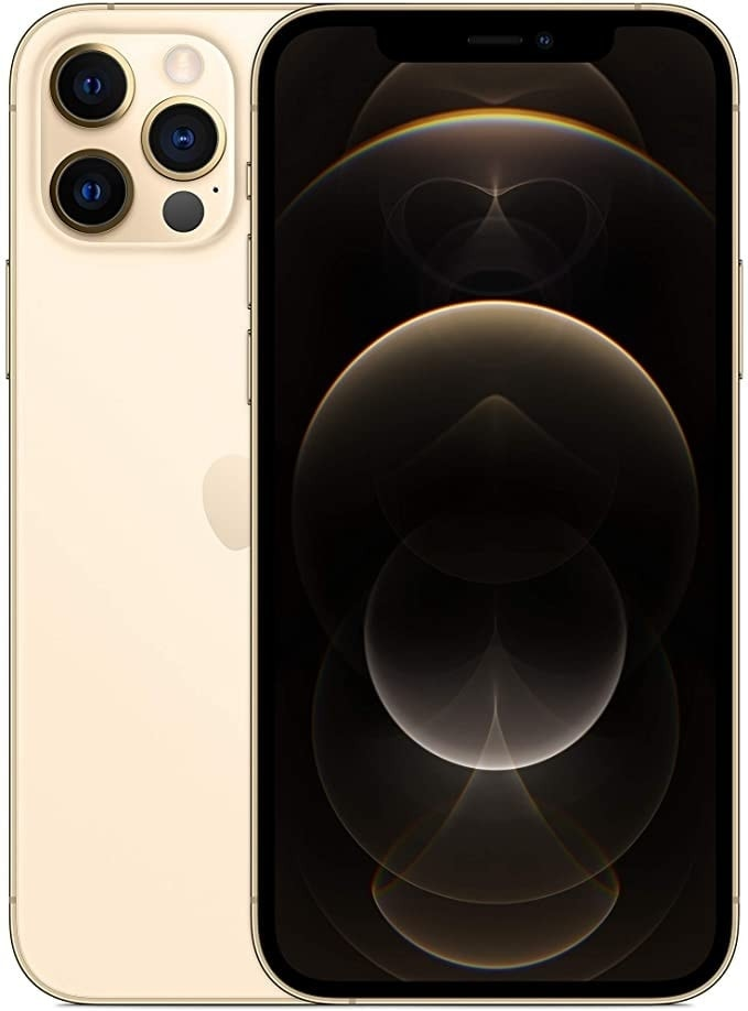 Apple iPhone 12 Pro with Facetime - 128GB, 5G, Gold - International Version