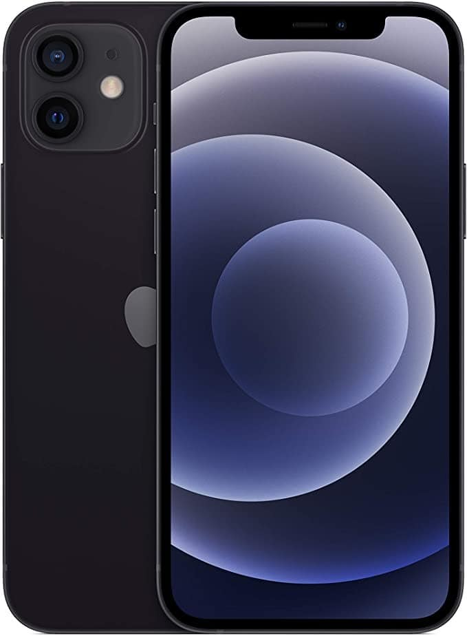 Apple iPhone 12 with Facetime - 128GB, 5G, Black - International Version