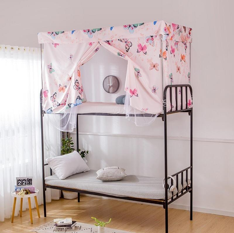 dealsforless-bed-curtain-privacy-butterfly