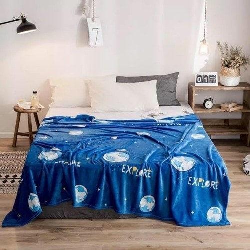 dealsforless-soft-fleece-blanket-blue