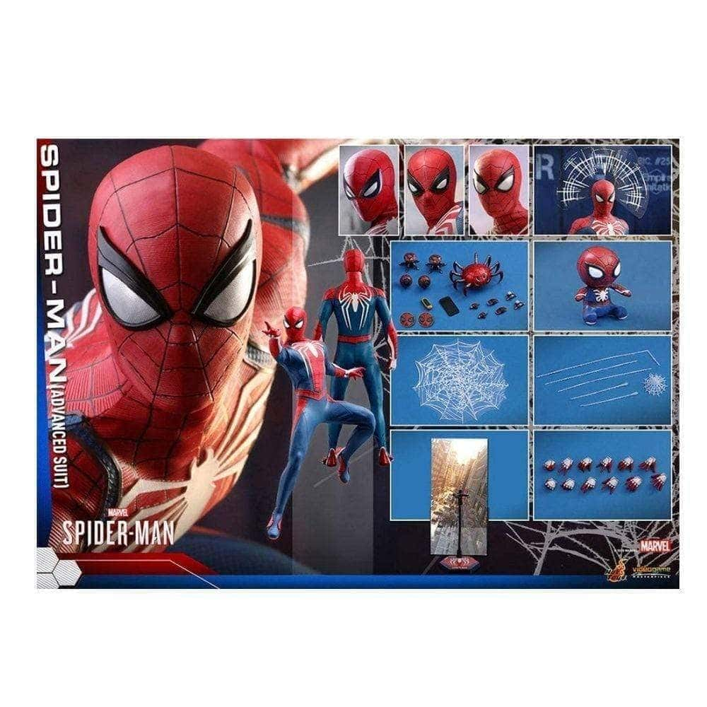 Spider-Man Advanced Suit Video Game Masterpiece Series Sixth Scale Figure