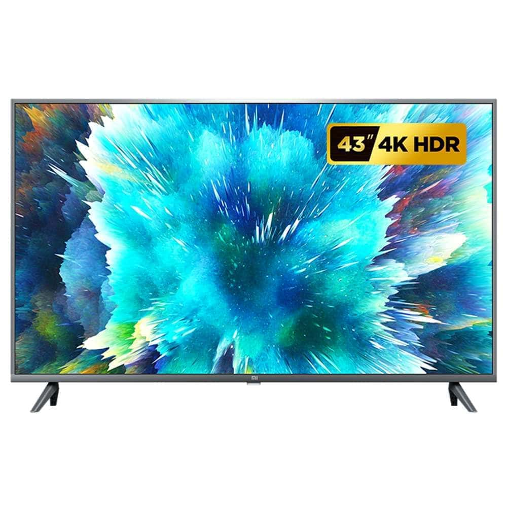 Mi TV 4S 43 Inch 4KHD Android TV Smart LED Television With Netflix 2020 Version - Global Version