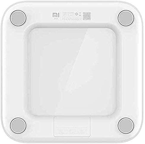Xiaomi Mi Smart Scale 2, Bathroom, High-Precision Accuracy, BMI Calculator & LED Display - White