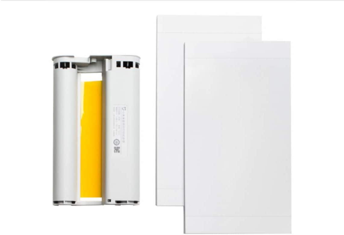 Xiaomi Mijia Photo Printer Color Paper Set 40 Pics