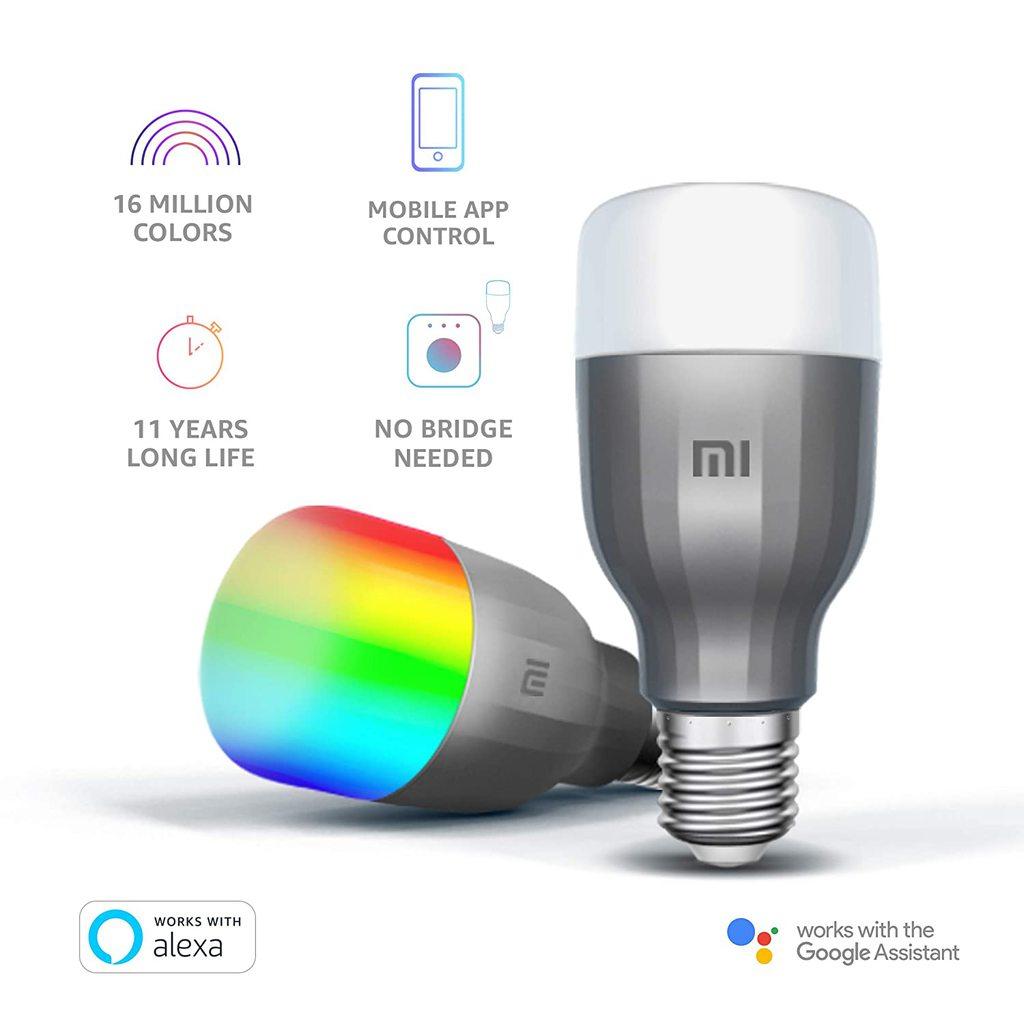 Mi LED Smart Bulb 1 PC (White and Color)