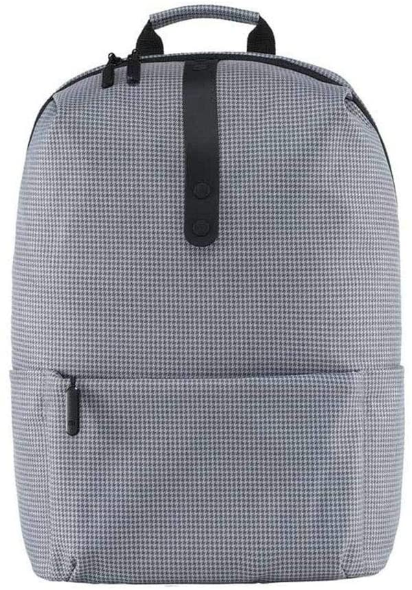 """Xiaomi Mi Casual Backpack Unisex Waterproof Minimalist Durable Leisure Backpack Urban 15.6"""" Laptop Backpack [School, Business & Office Bag] Inside for [ Travel / Camping / Cycling / Hiking ] - Grey"""