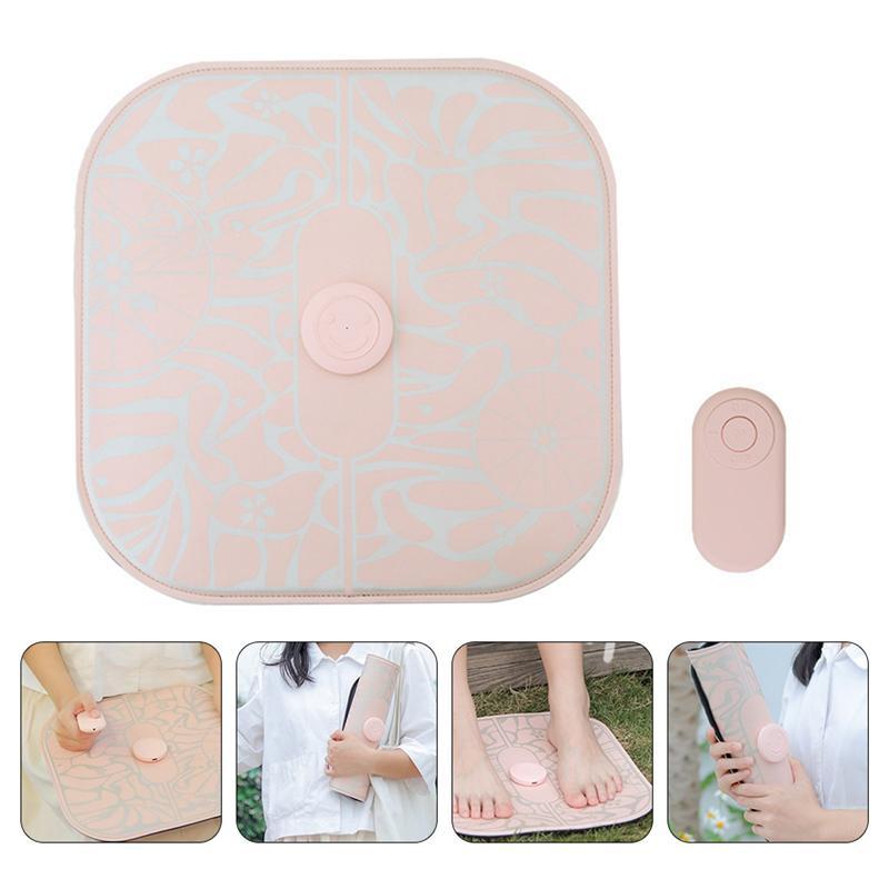 1Pc Folding Massage Pad Foot Massager Reelable Massager Chargeable Massaging Mat for Adults Foot Home Health