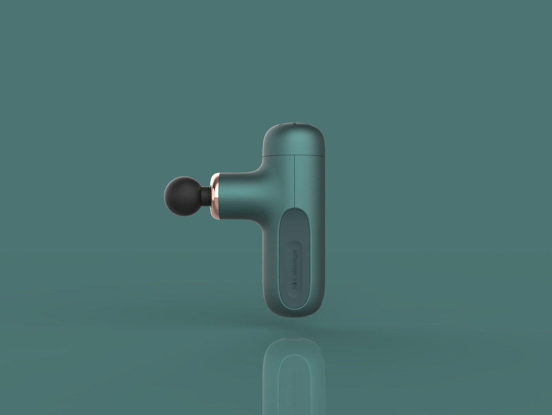 Tech Love Mini Massager Portable Massage Gun Handheld Low Noise
