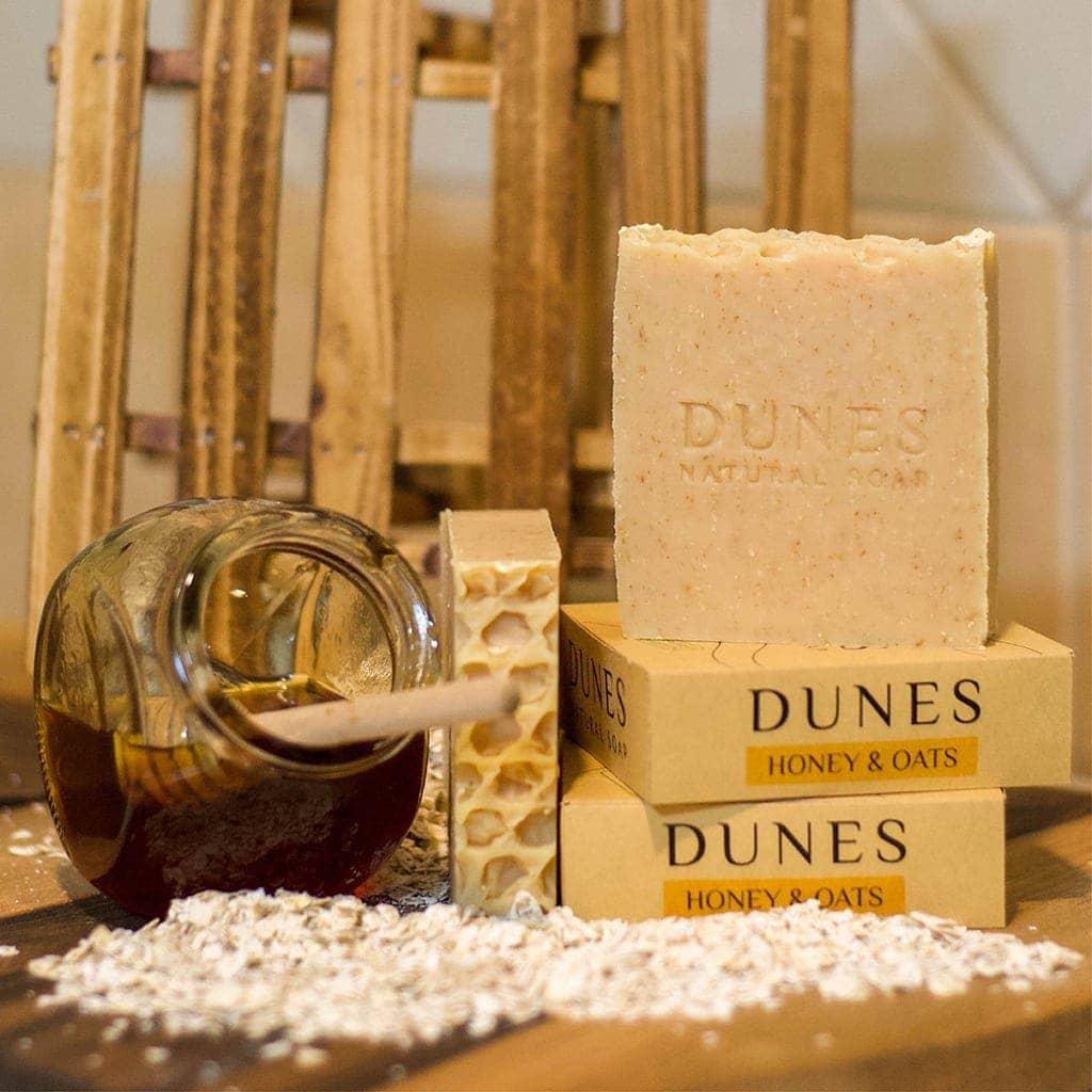 Dunes Honey & Oats Soap