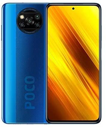 Xiaomi Poco X3 Smartphone, NFC, Dual SIM, 6GB RAM, 128GB, EU Version - Cobalt Blue