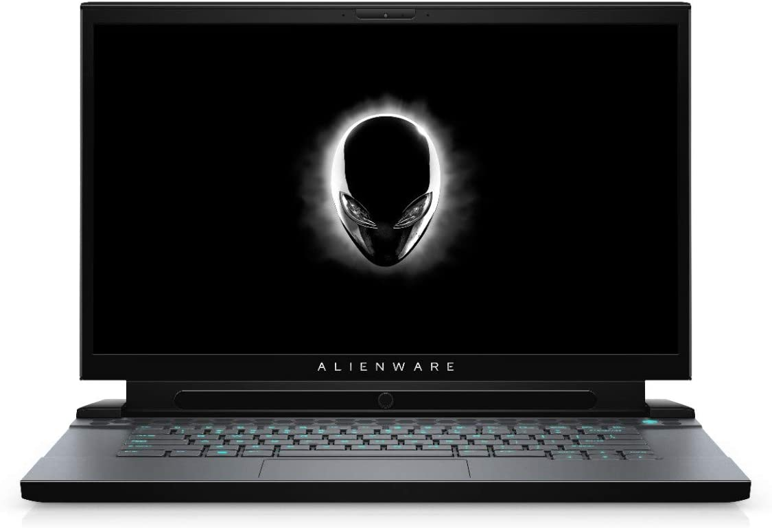 """Dell Alienware M15-7593BLK GAMING Core i7-10750H 2.6GHz 512GB SSD 16GB 15.6"""" (1920x1080) 300Hz BT WIN10 Webcam NVIDIA RTX 2070 SUPER 8192 DARK SIDE OF THE MOON Backlit Keyboard"""