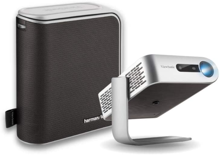 ViewSonic M1+ G2 Portable Smart Wi-Fi LED Portable Projector With Harman Kardon Speakers