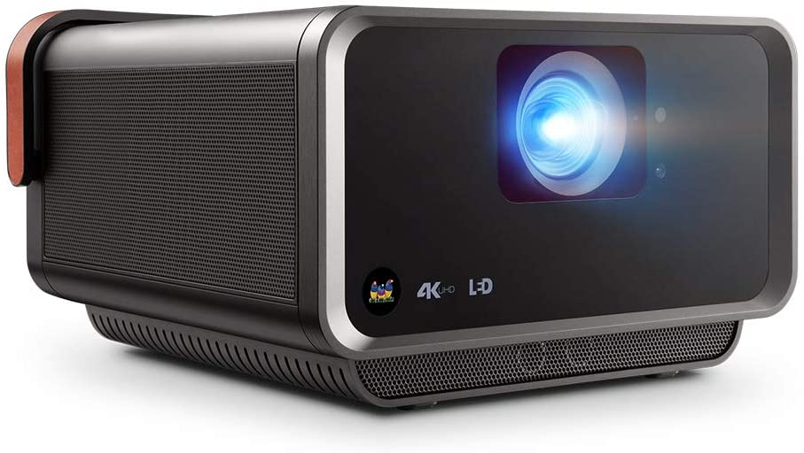 ViewSonic X10-4K+ True 4K UHD Short Throw LED Portable Smart Home Theater Projector