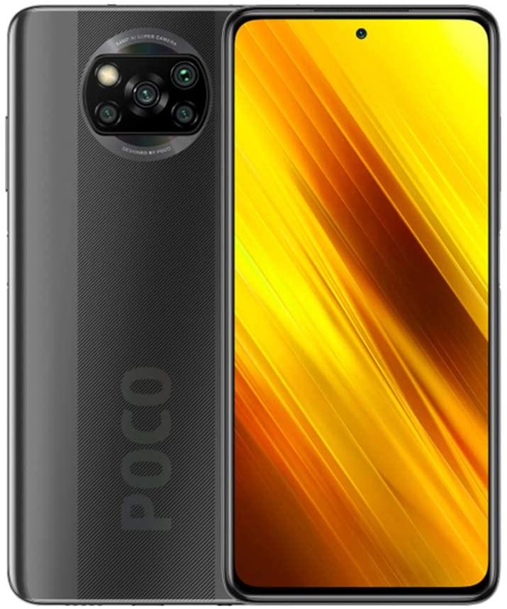 Xiaomi Poco X3 Smartphone, NFC, Dual SIM, 6GB RAM, 64GB, EU Version - Shadow Gray