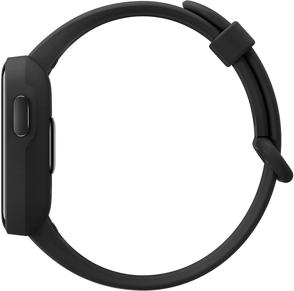 Xiaomi Smart Watch Lite -Black- 1.4 Inch Touch Screen, 5ATM Water Resistant, 9 Days Battery Life, GPS, 11 Sports Mode, Step Counter, Sleep and Heart Rate Monitor, Fitness Tracker, Activity Tracker