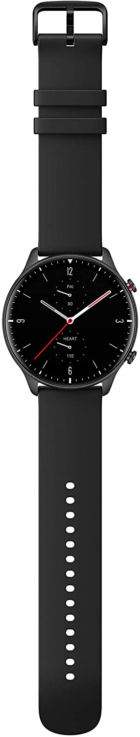 Amazfit GTR 2 Smartwatch with 3GB Music Storage, GPS, Heart Rate, Sleep, Stress, SpO2 Monitor, 14-Day Battery Life, Bluetooth Phone Calls, 90 Sports Modes, Water-Resistant, Sports