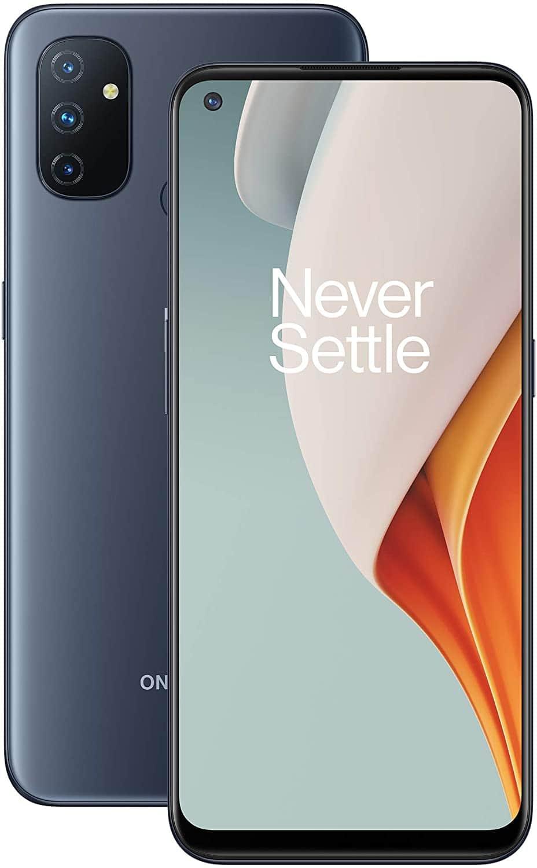 OnePlus Nord N100 Dual-SIM 64GB ROM + 4GB RAM 4G/LTE Smartphone (Midnight Frost) - International Version