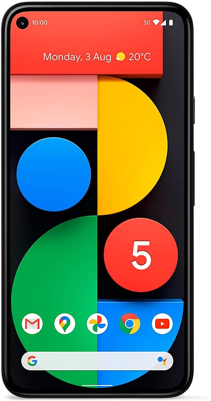 Google Pixel 5 128GB + 6GB 5G EU Version Google Edition - Just Black