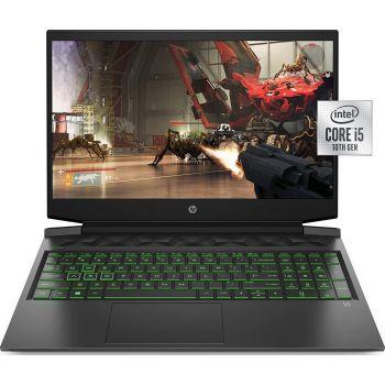 "HP Pavilion 16-A0025 GAMING Core i5-10300H 2.5GHz 256GB SSD 12GB 16.1"" (1920x1080) IPS MICRO-EDGE BT WIN10 Webcam NVIDIA GTX 1650Ti 4096MB SHADOW BLACK Backlit Keyboard"